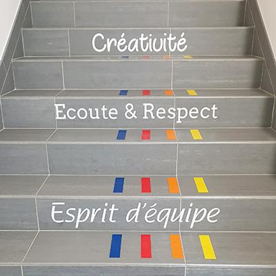 Escalier Publivue