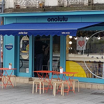 Store et Flocage Lambrequin Onolulu
