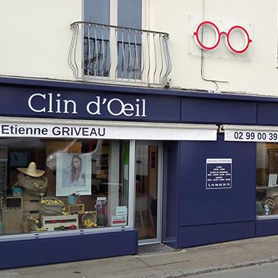 Double Store Motorisé Clin d'Œil