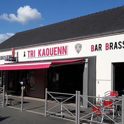 Store Motorisé Brasserie Tri Kaouen
