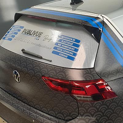 Covering voiture impression numérique