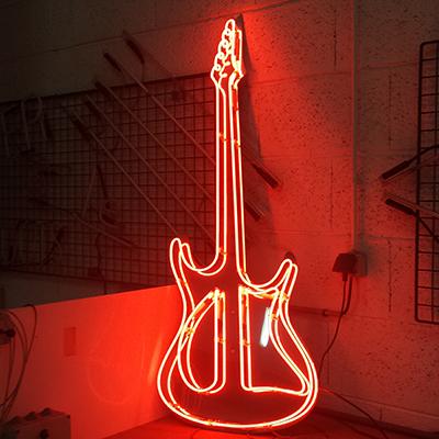 Guitare Néon