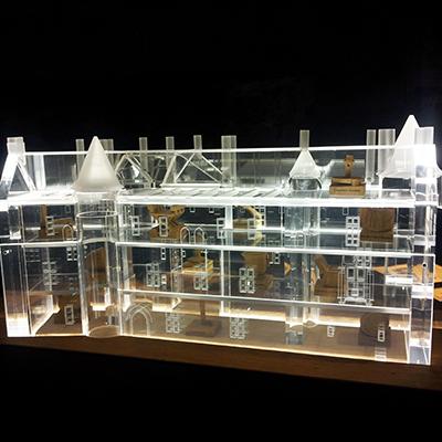 Maquette Bâtiment Plastique
